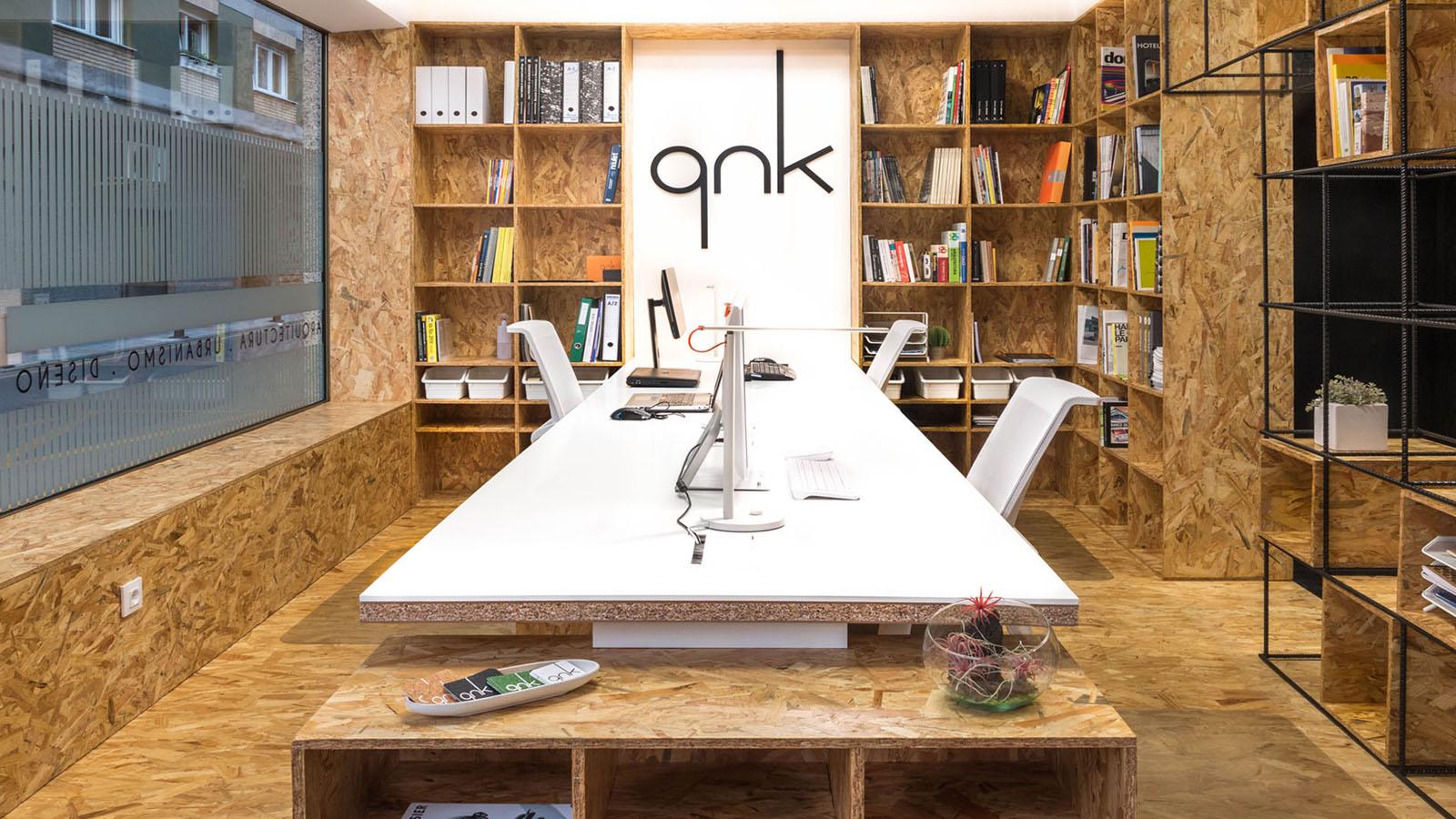 Estudio qnk. Zona de trabajo
