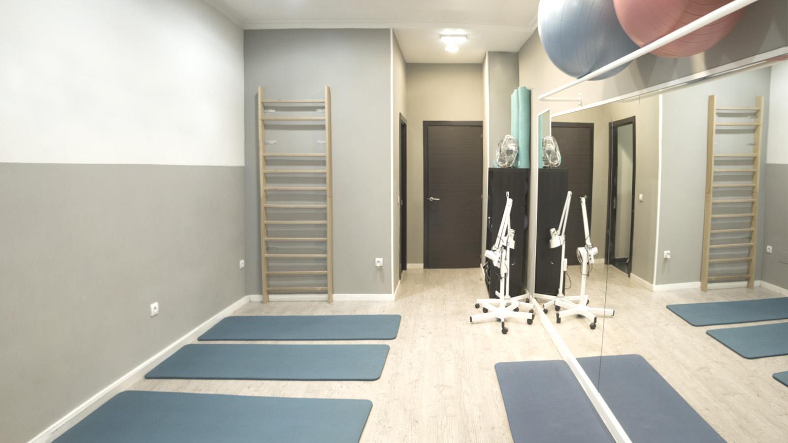 Clínica de fisioterapia A. Gimnasio