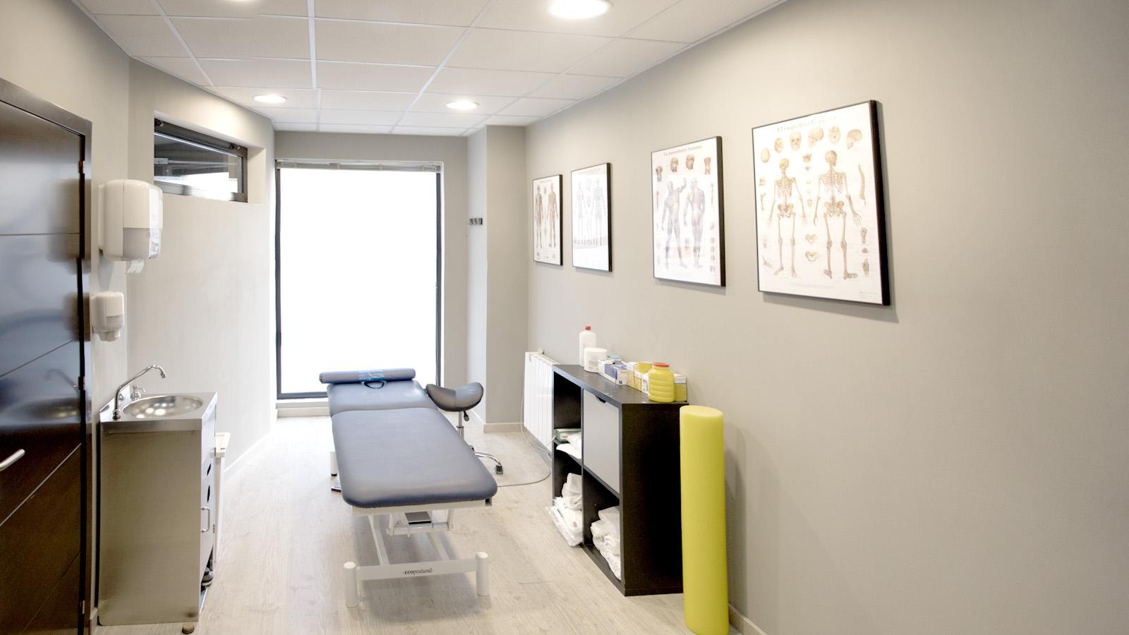 Clínica de fisioterapia A. Despacho