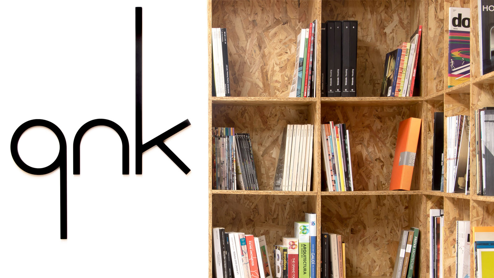 Estudio qnk. Detalle librería