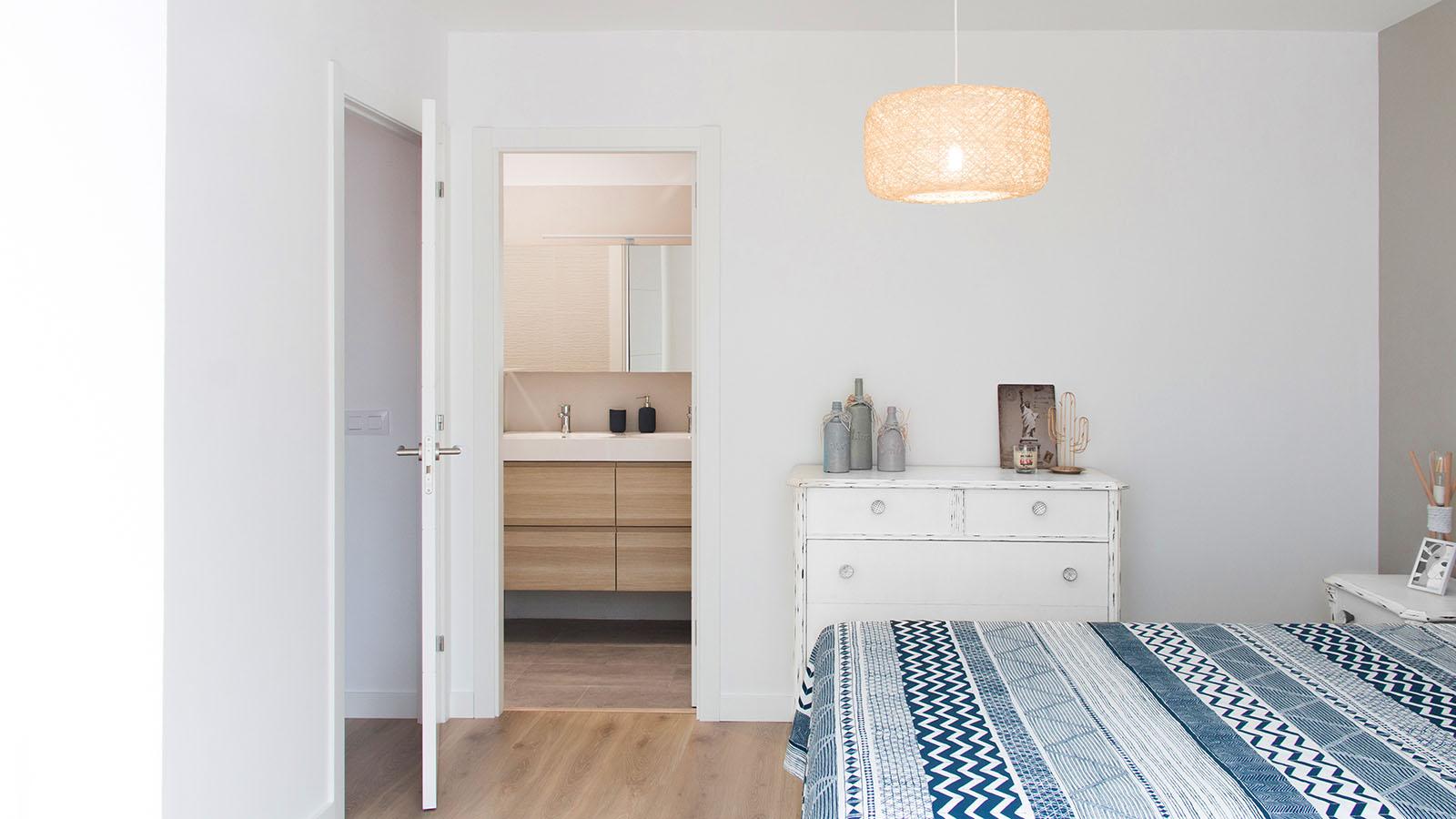 Reforma vivienda EA. Habitación