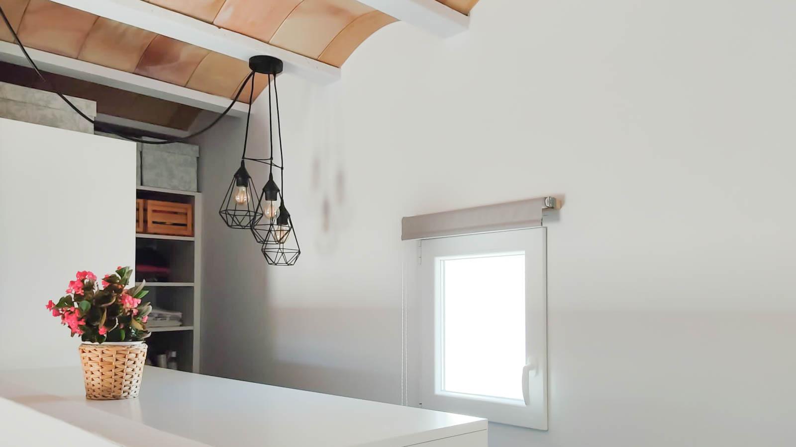 Vivienda mínima en Ibiza. Vista Interior 2